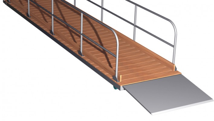 STEEL ACCESS GANGWAYS