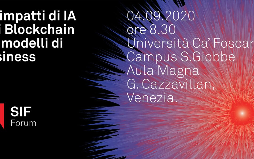 Strategy Innovation Forum 2020 – Università Ca' Foscari di Venezia