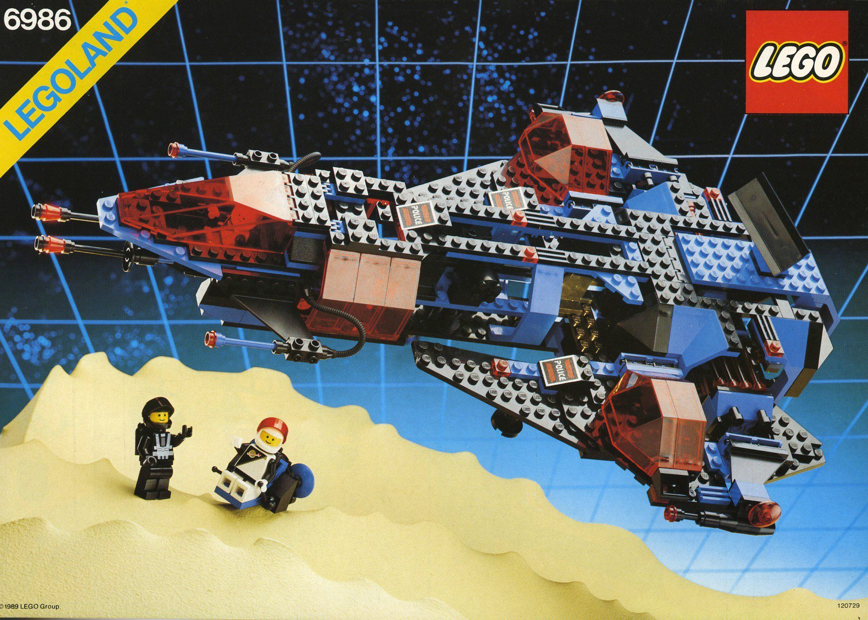#RETROLEGO - Lego Mission Commander 6986